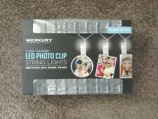 LED STRIP PEG LIGHT PHOTO CLIPS BATTERY FAIRY WARM WHITE FAIRY STRING 4.5 METER