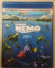Finding Nemo (3D Blu-ray, 2012) No DVD No DMA please Read