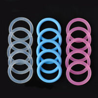 5pcs Lots O-Rings Silicone Baby Dummy Pacifier Chain Clips MAM Adapter Holder