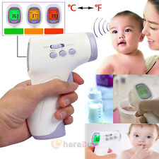 New Digital IR Infrared Body Thermometer Forehead Baby Adult Surface Temperature
