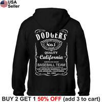 Los Angeles Dodgers Hoodie JD Whiskey Hooded Sweat Shirt Sweatshirt Sweater LA