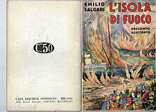 book books emilio salgari racconti illustrati # 49 adventures first edition 1936