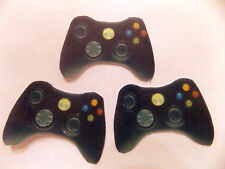 12 PRECUT edible wafer/rice paper Xbox Controller cake/cupcake toppers