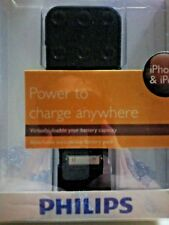 PHILIPS IPHONE & IPOD CHARGER PORTABLE BATTERY PACK