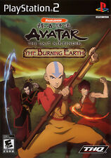 Avatar: The Last Airbender - The Burning Earth (2007) New Factory Sealed USA PS2