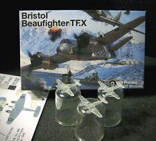 1/700 Bristol Beaufighter TF Mk.X - (x3) 3D Printed - With Ordnance Sprue!