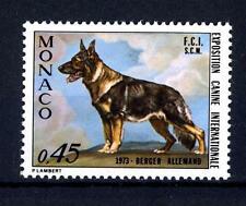 MONACO - 1973 - Esposizione canina internazionale. Pastore tedesco