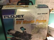 PORTABLE WASTE PUMP  FLOWJET RV MODEL 18555 000        ITT Engineered for Life