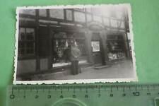 tolles altes Foto - Gebäude - Geschäft Friedrich Koch ??  Harzgegend ?