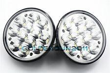 "2PCS 5-3/4"" H5001/H5006 Sealed Beam Hi-Power 36W Round LED Headlight Replacement"