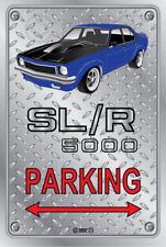 Parking Sign - Metal - Holden Torana SLR 5000 PURPLE -  ORIGINAL RIMS
