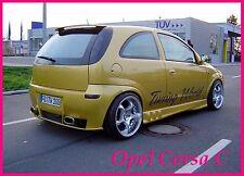 OPEL CORSA C MK2 spoiler posteriore/tetto (2000-2006)