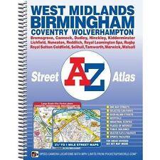 West Midlands Street Atlas by Geographers' A-Z Map Co Ltd (Spiral bound, 2015)