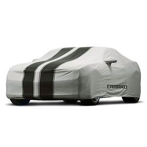 2010-2015 Camaro Coupe Genuine GM Premium Outdoor Car Cover Gray 92215994