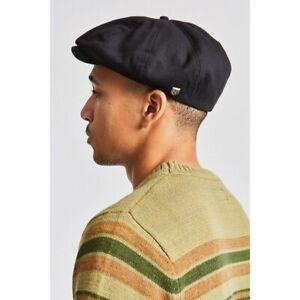 NWOT BRIXTON Brood Driving Cap Black Men's Size Small 7