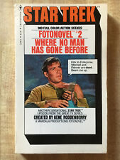 STAR TREK Fotonovel #2 Where No Man Has Gone Before 1st 1977 300 Color Scenes!!!