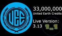 Star Citizen 33,000,000 aUEC (Ver 3.13 Live Alpha UEC)
