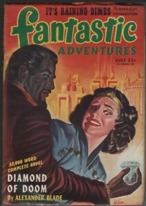 Fantastic Adventures 1945 July