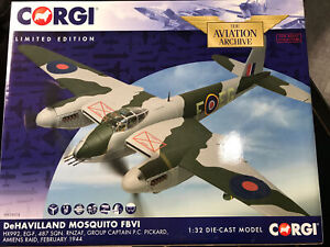 Corgi Aviation AA34604 De Havilland Mosquito FBVI HX992 Amiens Raid 1/32 Ltd Ed