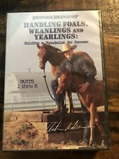 New listing Clinton Anderson Handling Foals Weanlings and Yearlings 6 Dvd Horse Training Kit