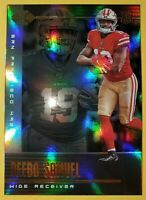 Deebo SAMUEL 🔥 San Francisco 49ers 🏈 2019 PANINI ILLUSIONS * RC * ROOKIE CARD