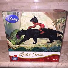 DISNEY ARTIST SERIES JIGSAW PUZZLE MOWGLI JUNGLE GUARDIAN 1000 PIECES