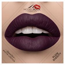 MODELROCK Liquid to Matte Lipstick PLUM DIGGITY model rock lipcolour last Vegan