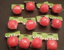 12 NEW RED FOAM CLOWN NOSES CIRCUS CLOWN COSTUME ACCESSORY CARNIVAL RUDOLPH NOSE