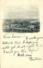 canada, St. JOHN, N.B., Harbor from Fort Howe (1905) Stamp