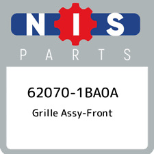 62070-1BA0A Nissan Grille assy-front 620701BA0A, New Genuine OEM Part