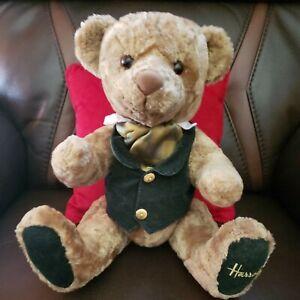 "Harrods Knightsbridge 18"" Rodney Jointed Teddy Bear Plush"