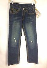 True Religion Womens Billy Super T Women Jeans Urban Cow Size 30 Retail $345 NWT