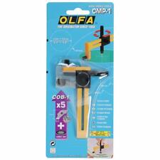 Olfa Compass Cutter + 5 Blades - Crafts Sewing Cuts Fabric Paper
