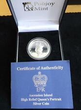 2012 SILVER PROOF 2OZ ASCENSION £5 COIN HIGH RELIEF BOX + COA DIAMOND JUBILEE