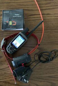 Garmin Astro 220 With DC40 Dog Tracking Collar GPS System