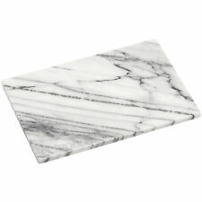 Kitchen Chopping Board Sturdy and Durable Easy Clean White Marble 31 X 21 Cm