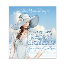 322435 Debbi Moore Art Déco Elegant Moments Papierhandwerk CD-ROM x 1