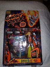 Ghost Rider Armored Blaze ToyBiz 1996 Action Figure Light-Up Ghostfire Chest!