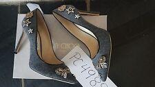 NWT 1095$ Jimmy Choo ROMY flannel crystal heels punps size 39 US 8.5 9  receipt