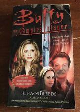 BUFFY THE VAMPIRE SLAYER CHAOS BLEEDS BOOK BTVS