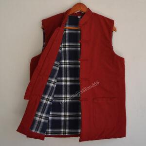 Winter Warm jacket Kung Fu Tai chi Tang suit Martial Arts Wing chun Shaolin Vest
