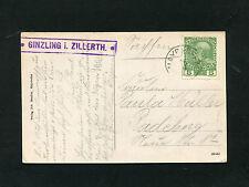 Österreich - Postablage Zillertal  1913   (#2635)