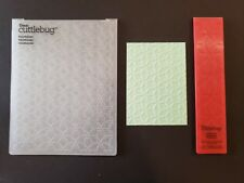 Cricut Cuttlebug Kaleidoscope A2 and Border Embossing Folder Duo from Provocraft