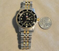 Vintage Tag Heuer Professional 200 meters Diver Watch - runs excellent