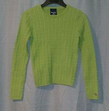 Womens Polo Jeans Co. Ralph Lauren Knit Sweater Top Size M Green
