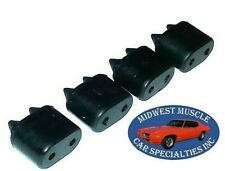 66 67 GTO Chevelle Skylark Cutlass Lemans  Bonneville Rubber Door Bumper 4PCS A