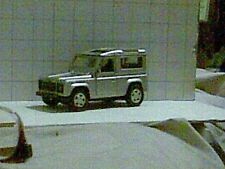 LAND ROVER DEFENDER 2004 1/32nd APPROX 5 7/8in LONG INCLUSIVE OF SPARE & TOW BAR