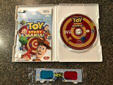 TOY STORY MANIA (Nintendo Wii) Complete with Case, Manual & NEW 3D Glasses