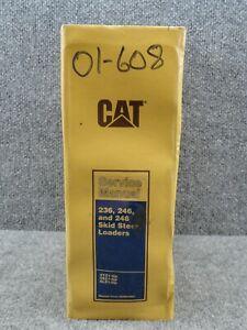 OEM Factory CAT Caterpillar 236 246 248 Skid Steer Loader Service Repair Manual