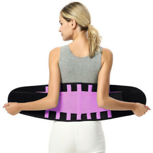 Waist Trimmer Belt Low Back and Lumbar Support Fitness Abdominal Trainer
